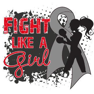 Brain Cancer Fight Like A Girl Grunge