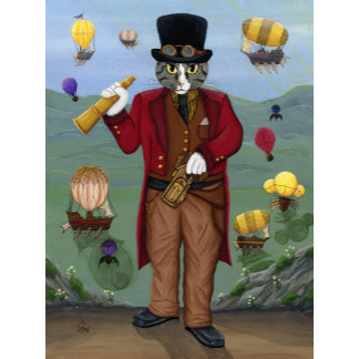Steampunk Cat Guy