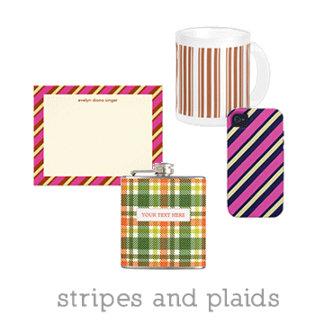 stripes and plaids