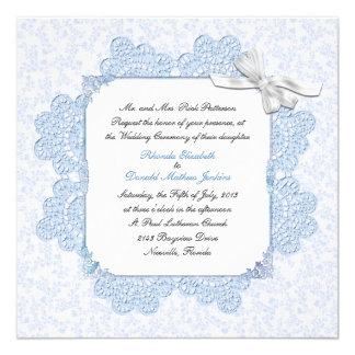 Shabby Blue Victorian Style Wedding Products