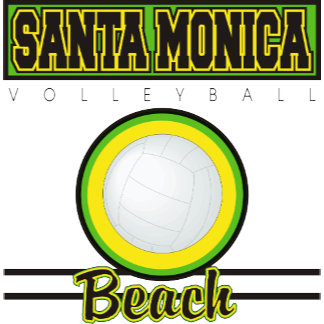Santa Monica Beach Volleyball T-Shirt