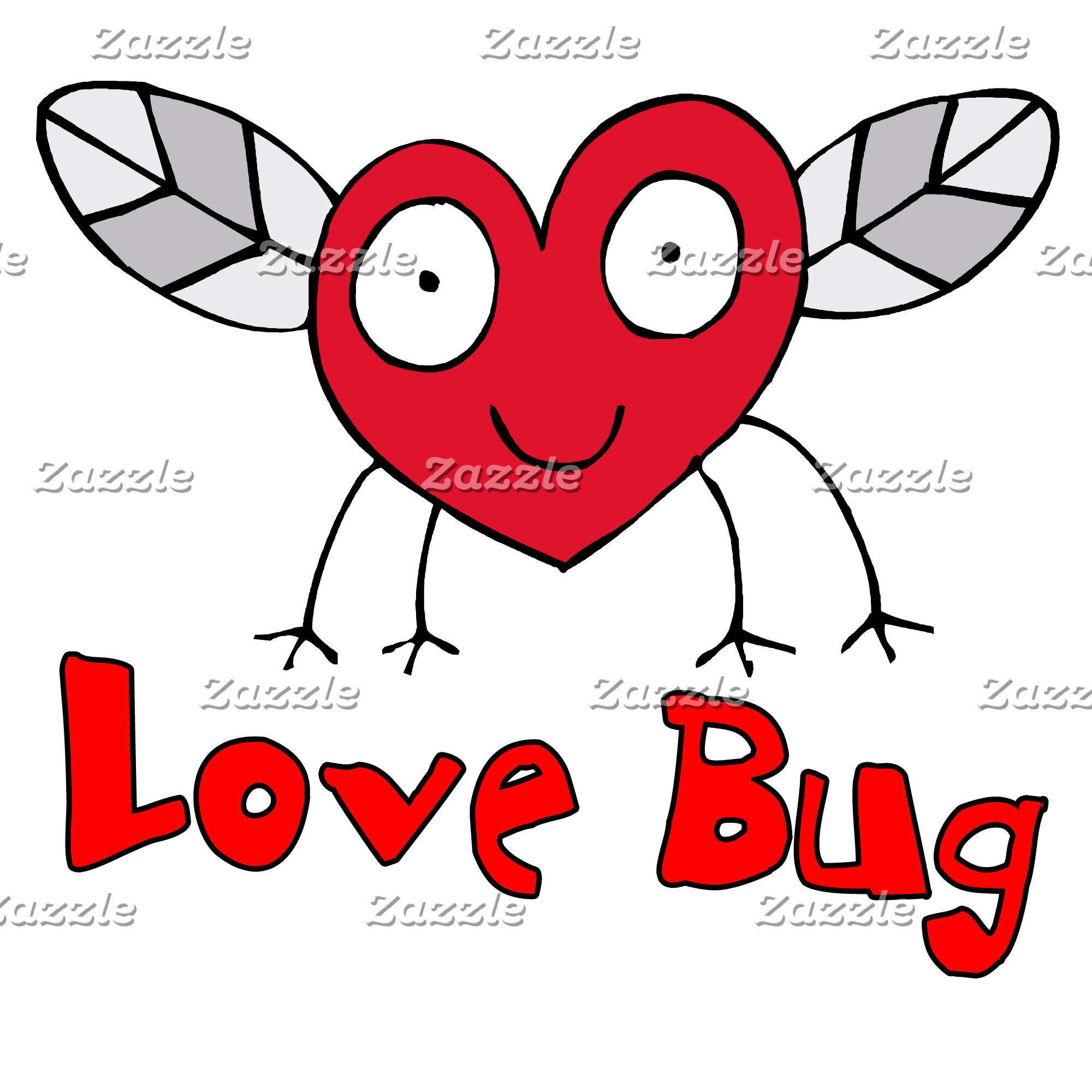 Love Bug T-shirts, Buttons, Swag
