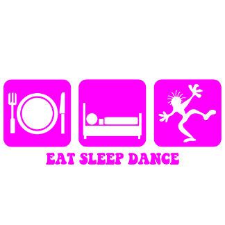 Eat sleep dance pink