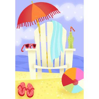 fun beach scene