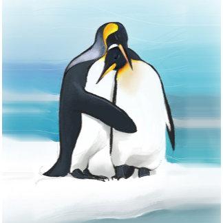Penguin Love Kisses