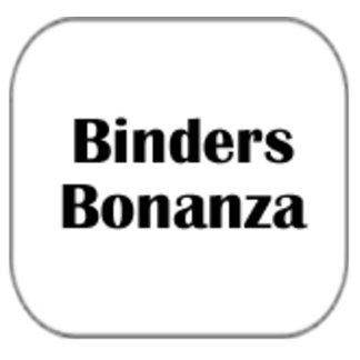 Binders Bonanza