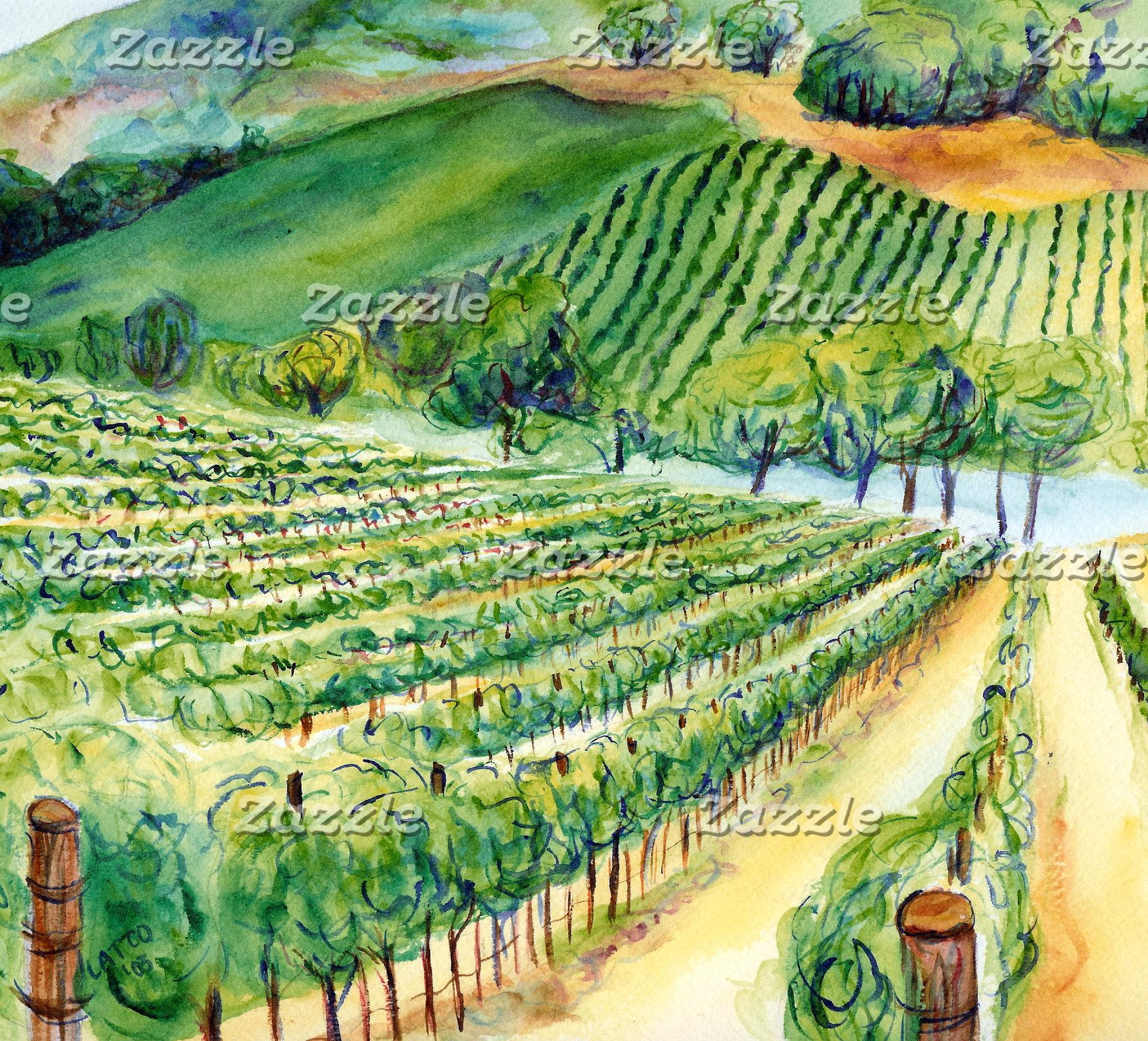 Wine Grapes & Vineyards