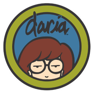 Daria Circle Logo Blue/Green