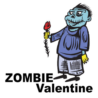Zombie Valentine T-shirts and Gifts