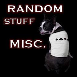 Random Stuff : Miscellaneous