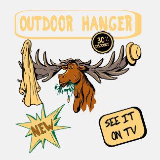 Moose Antler Coat Hanger - Funny New Gift