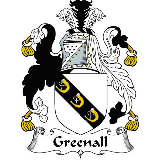 Greenall Family Crest / Coat of Arms