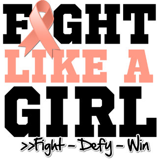 Endometrial Cancer Sporty Fight Like a Girl