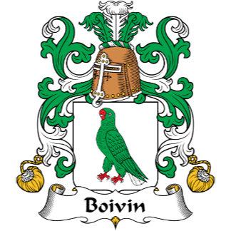 Boivin Family Crest