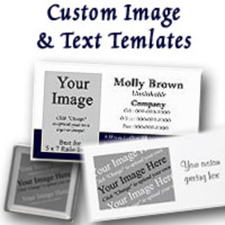 Custom Image and Text Templates