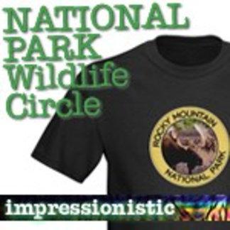 Wildlife Circle National Park T-Shirts
