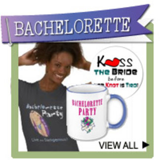 Bachelorette Party T-shirts, Favors, Stamps, Gifts