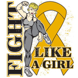 Appendix Cancer Fight Like A Girl Kickin Butt