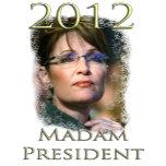 Sarah Palin serious hair up Transparent Madam Pres