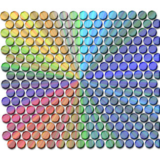 Multicolor Prism Effect