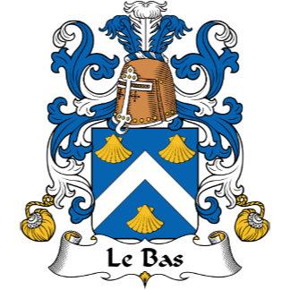 Le Bas Family Crest