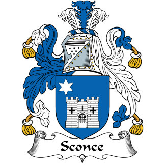 Sconce Family Crest