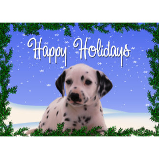Holiday Greetings Dog Cards