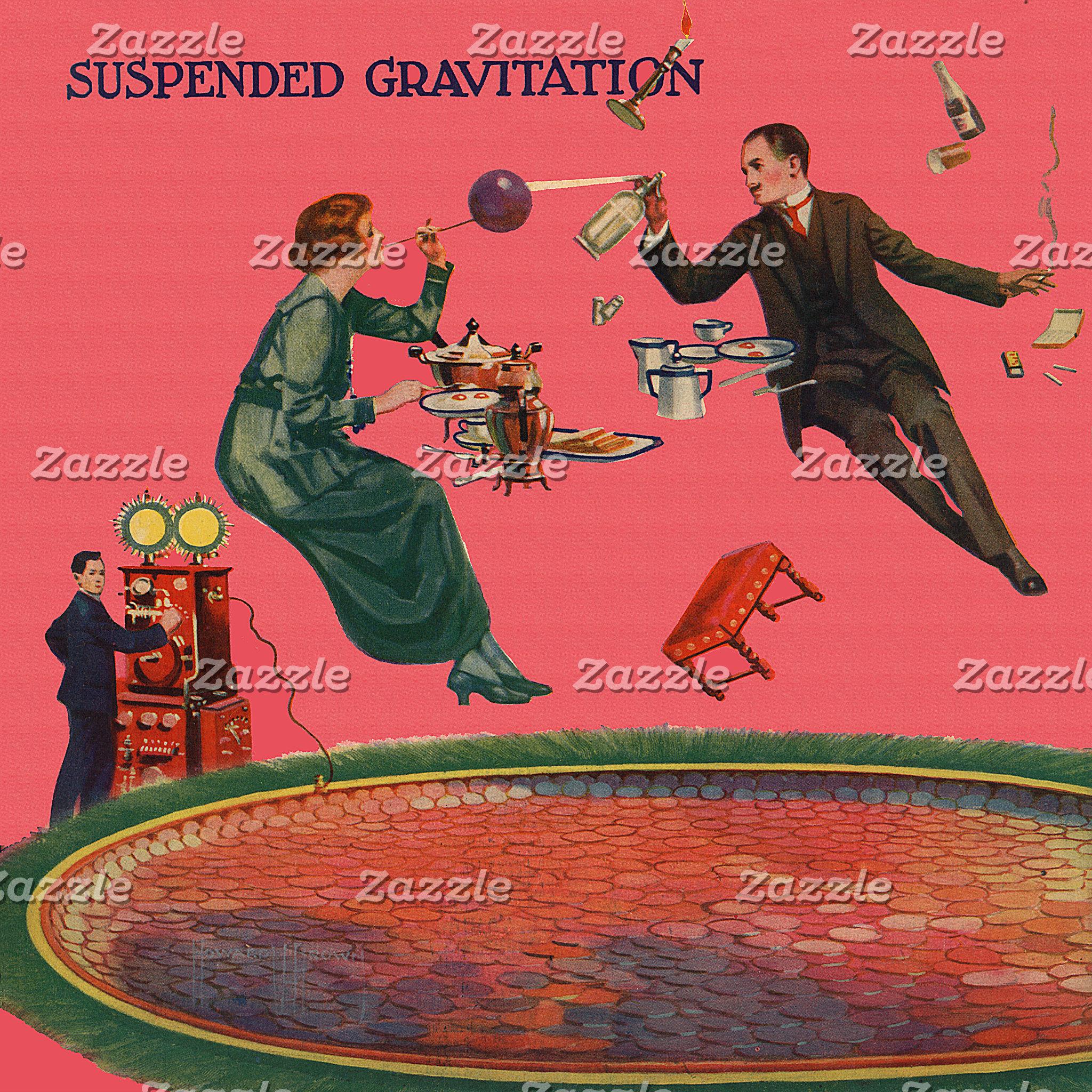 Suspended Gravitation