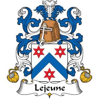 Lejeune Family Crest