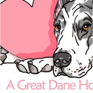 A Great Dane Holds My Heart