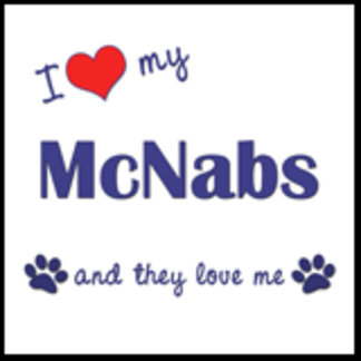 I Love My McNabs (Multiple Dogs)