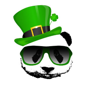 St. Patricks Leprechaun Panda