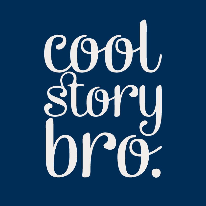 Cool Story Bro Navy