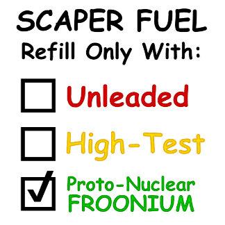Scaper Fuel