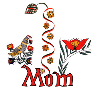 Folkart Mom