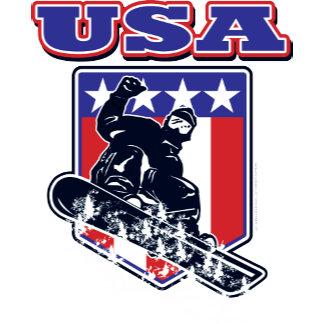 USA Snowboarder
