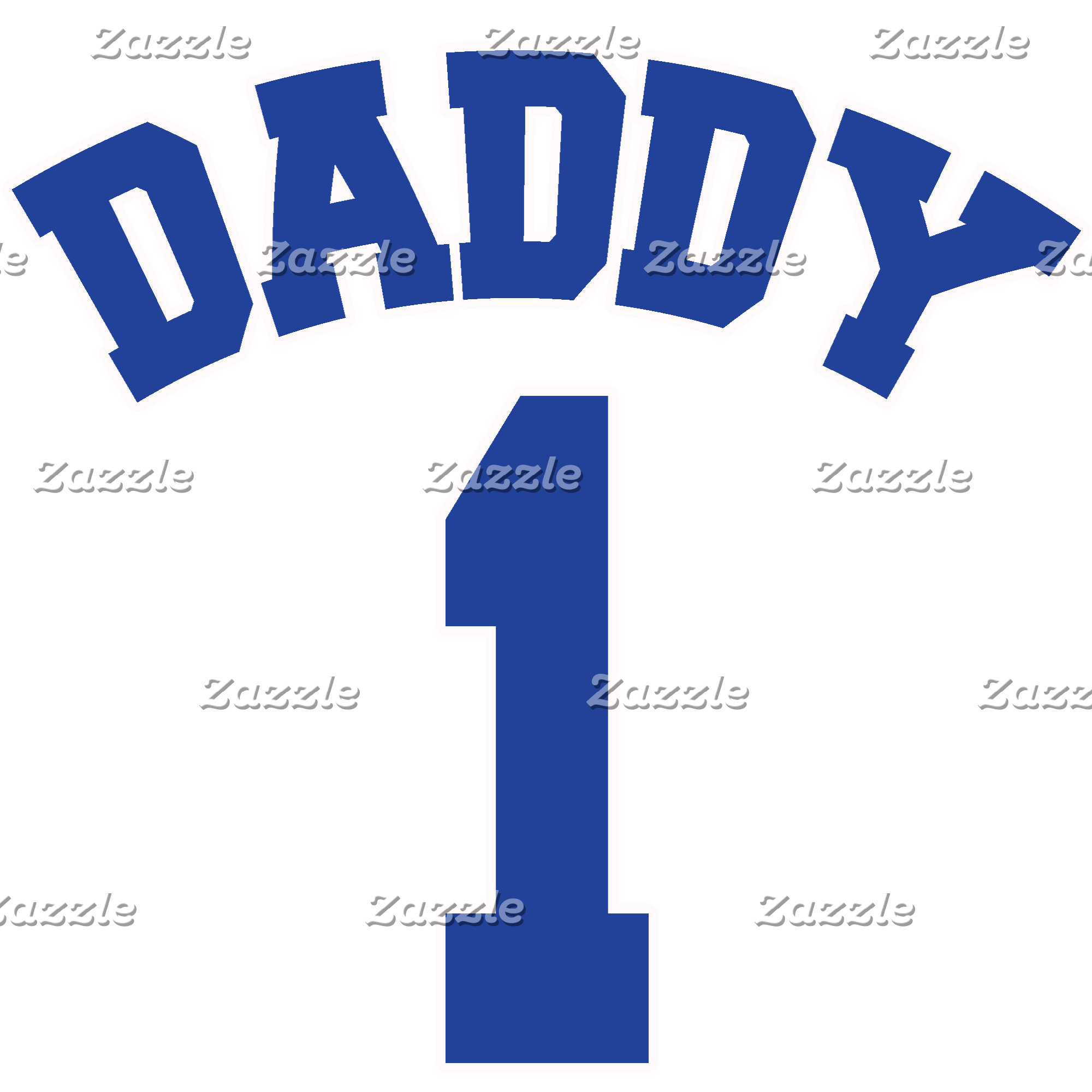 Daddy 1 Tshirts, Gifts, Father's Day Gifts