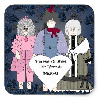 Gray Or White Hair We Are All Beautiful!