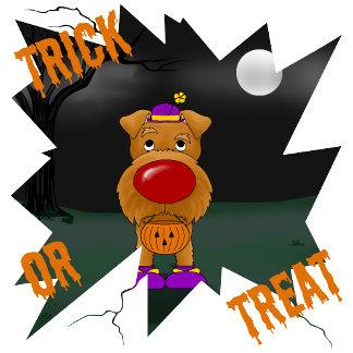 Irish Terrier - Big Nose Halloween