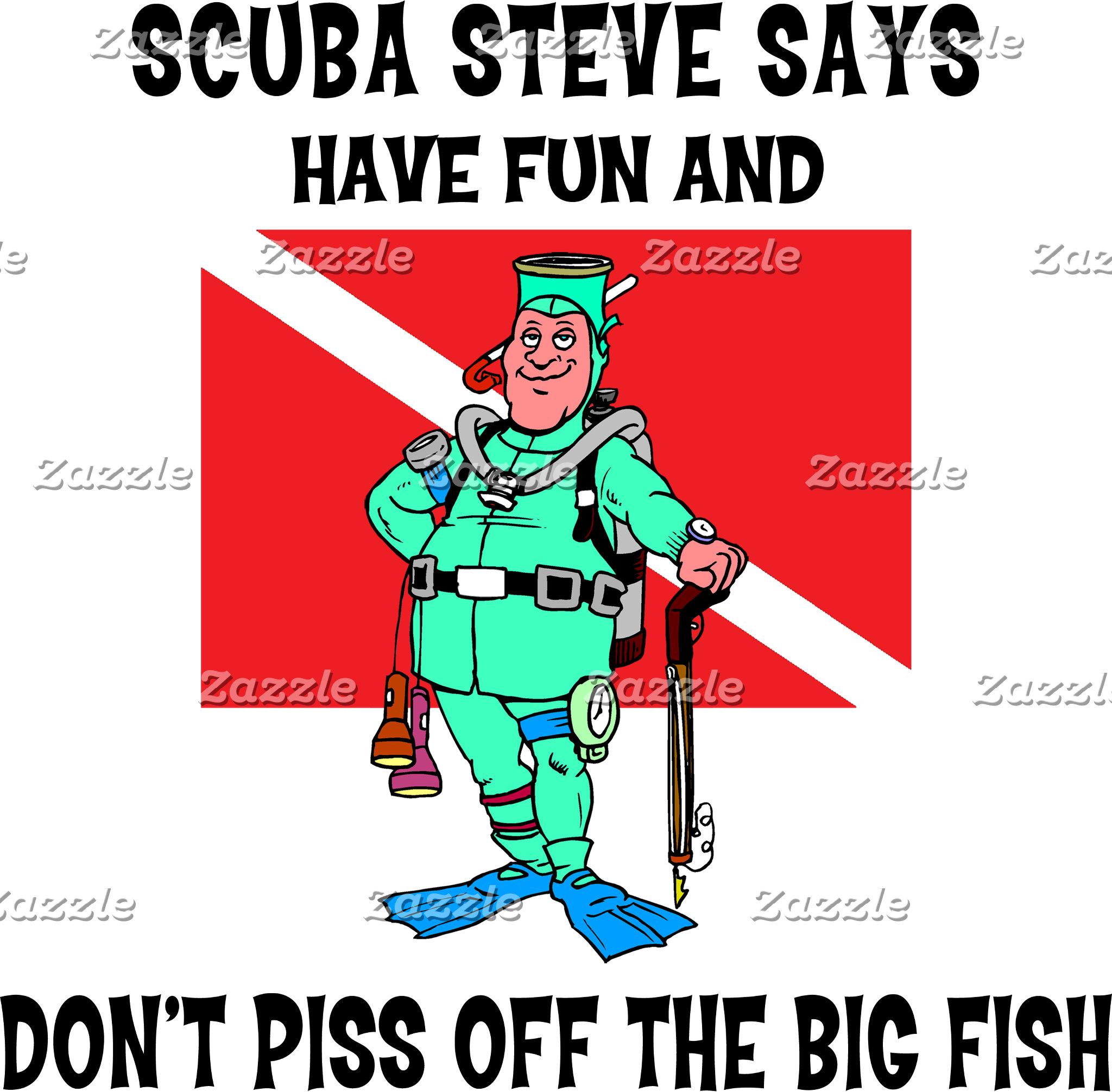SCUBA Steve T-Shirts