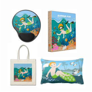 Kids Sea Sports Birthday Party and Gifts!