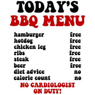 Funny Barbecue menu!