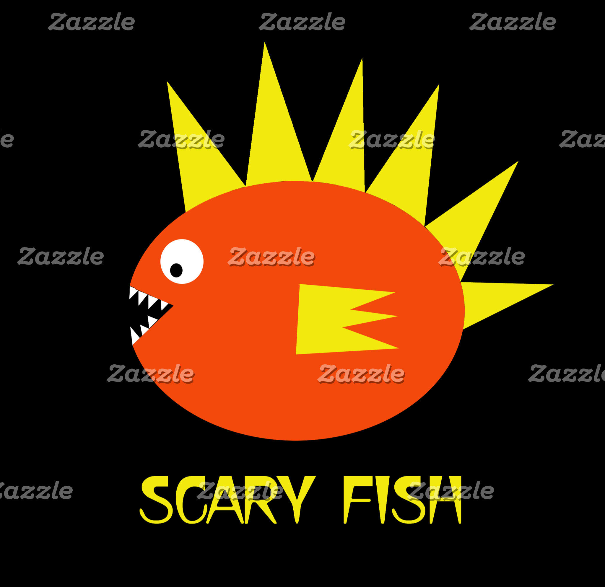 ►Scary Fish and Friends