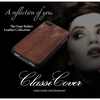 Faux Italian Photo Printed Case Collection
