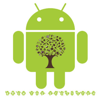 Grow The Ecosystem (Bug Droid Brown Tree)