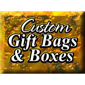 Custom Gift Bags & Boxes