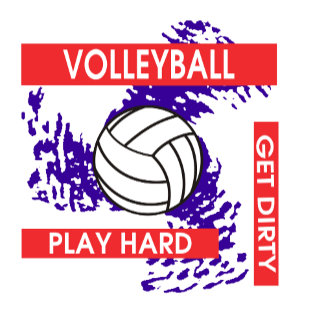 Play Hard Get Dirty Volleyball T-Shirt