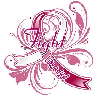 Head Neck Cancer Fight Like a Girl Flourish