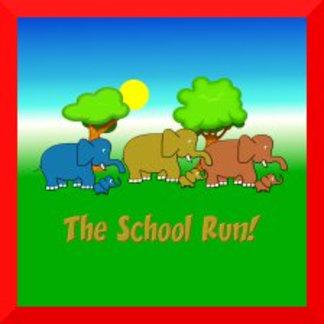 The Elephant School Run