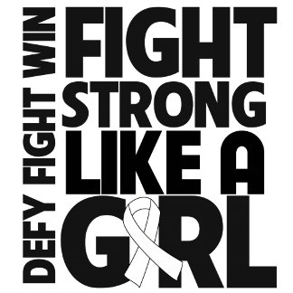 Lung Cancer Fight Strong Like a Girl